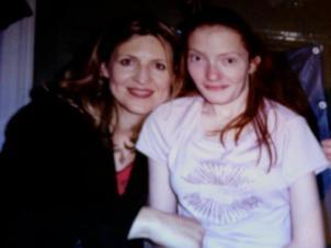 Meeting Darlene Zschech 1999 - a month after heart surgery